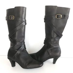 Nurture Reed Zip Up Leather Lined Boots. Size 5.5